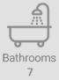Bathrooms 7